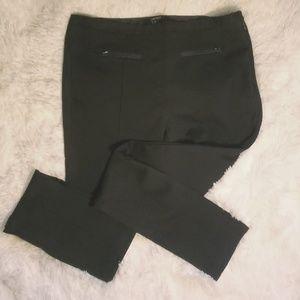 Black cigarette skinny pants // Size Medium / sz 8